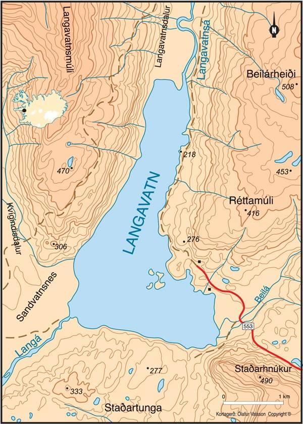 Langavatn í Borgarbyggð