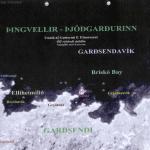 Kort af Garðsendavík