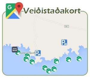 Veiðistaðakort Veiðistaðavefsins - Þingvellir Þjóðgarður