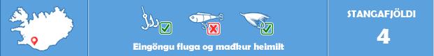 Þverá í Fljótshlíð - Veiðistaðavefurinn