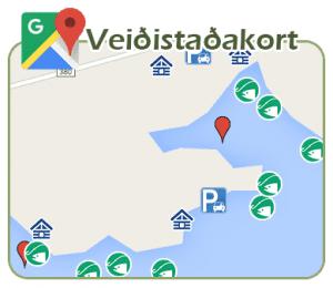 Veiðistaðakort Hlíðarvatn - Veiðistaðavefurinn