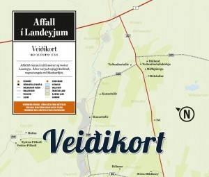 Affall - veiðikort - Veiðistaðavefurinn